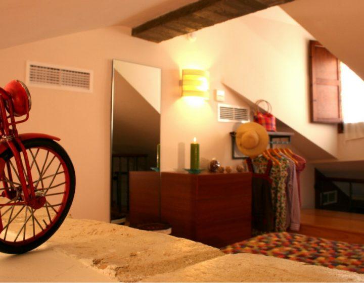 Hotel rural con encanto Posada de Uncastillo. Suite Rusticae.