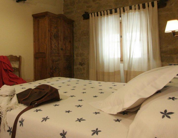 Habitación doble de hotel rural con encanto Posada de Uncastillo (Rusticae)