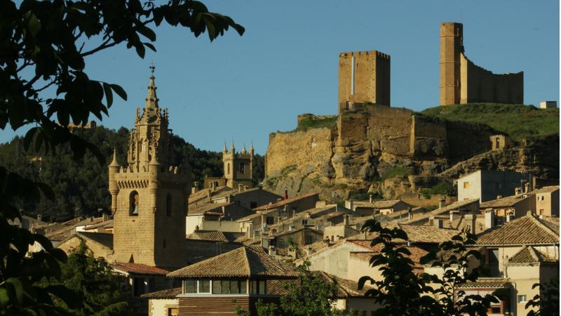 Iglesias y Castillo - Patrimonio Cultural de Uncastillo