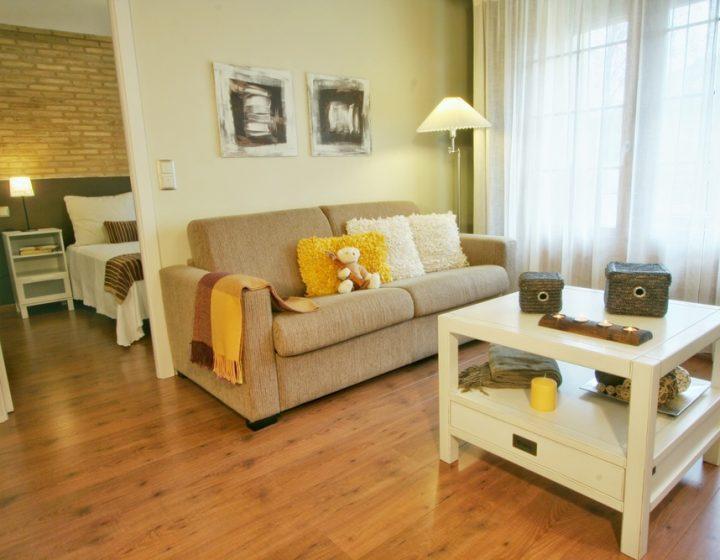 Apartamento rústico y luminoso en Cinco Villas