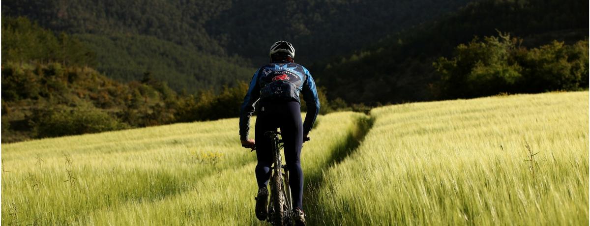 Bici de montaña en las Cinco Villas
