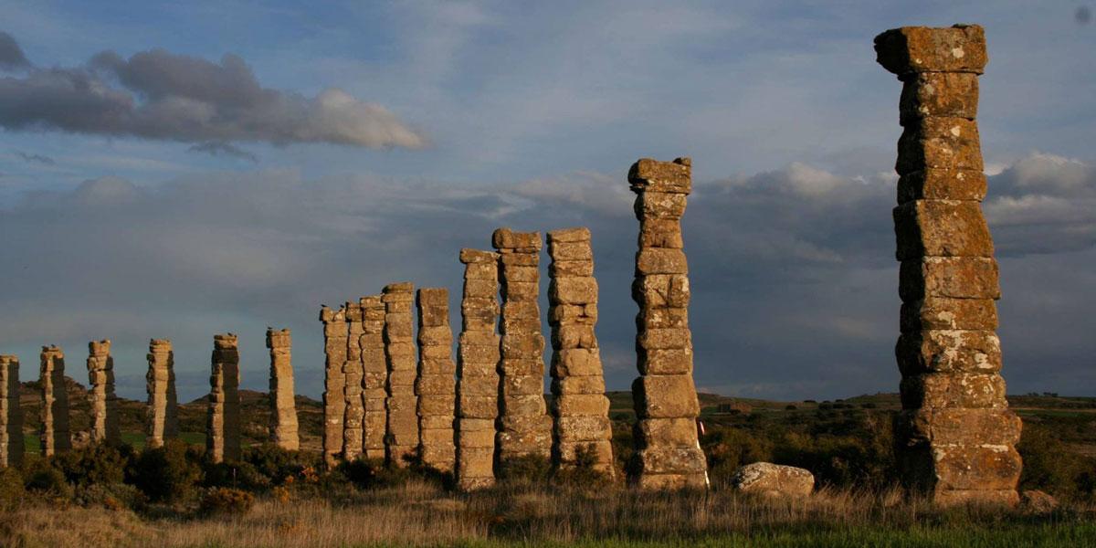 Yacimiento arqueológico romano de Los Bañales