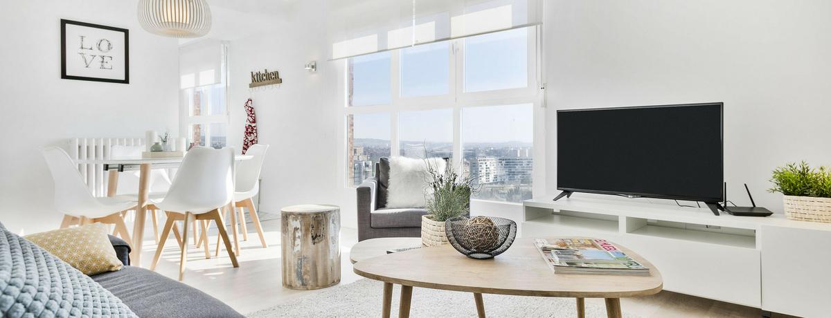 Apartamentos alquiler turístico Zaragoza Mirador I