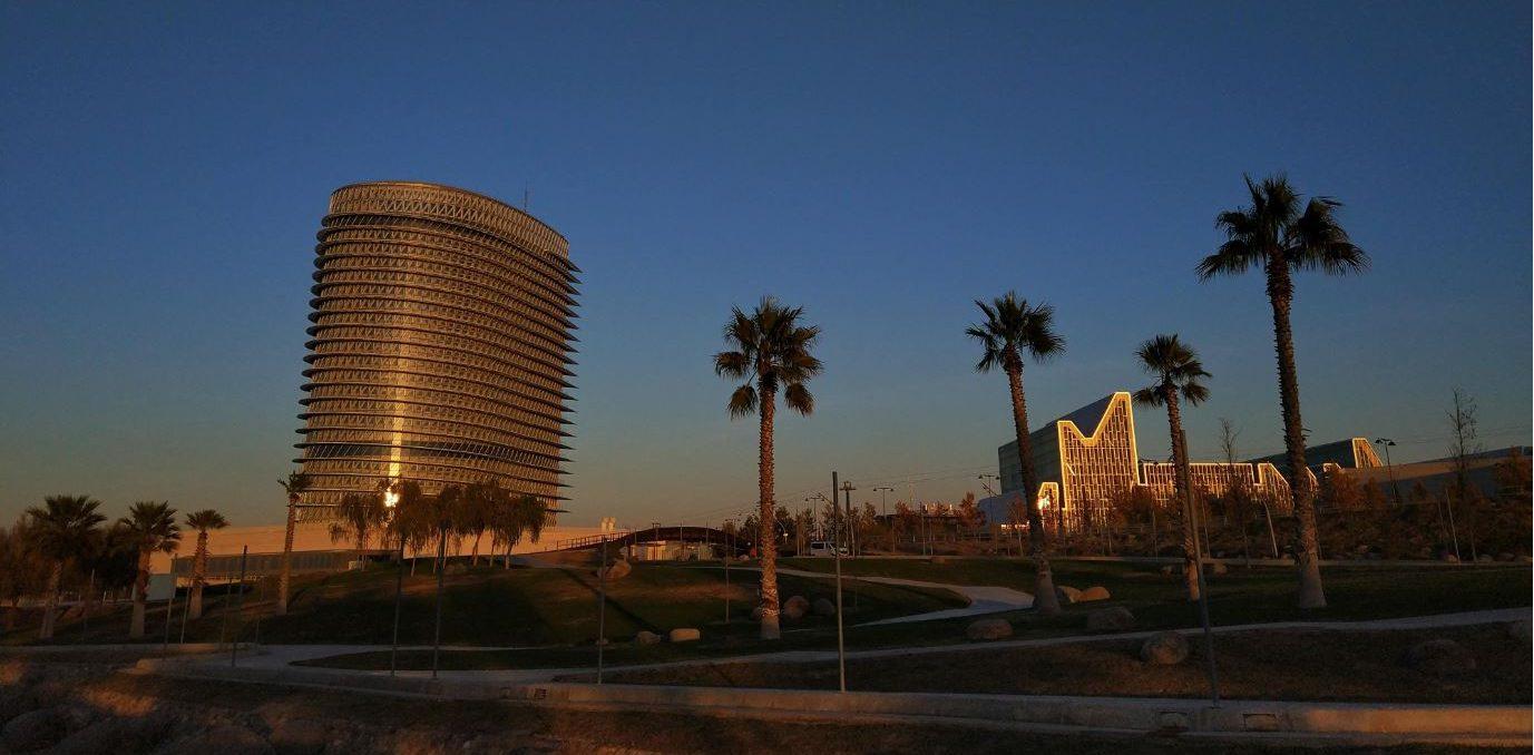 Parque zona Expo. Near our tourist apartments