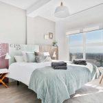 Habitación Doble del Mirador de Zaragoza apartamento de alquiler Rusticae