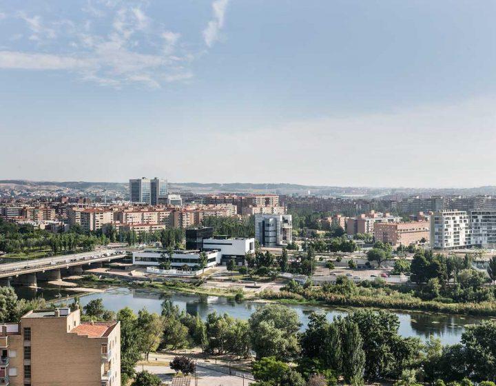 Vistas del Mirador de Zaragoza