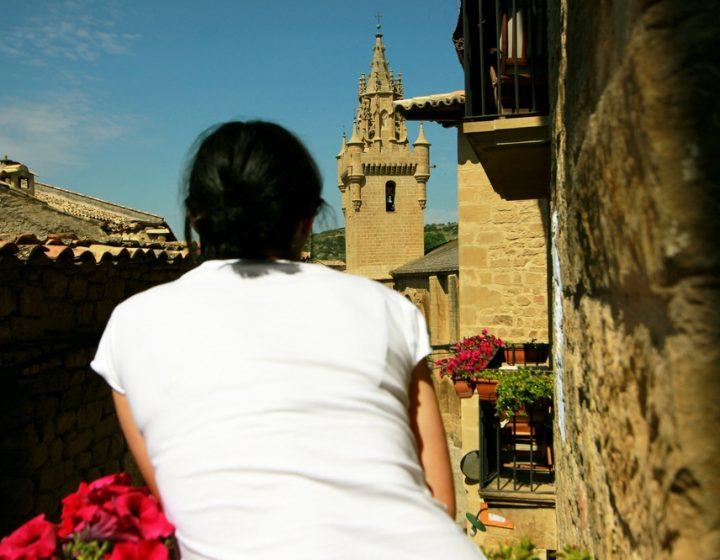 Vistas desde la Posada de Uncastillo, hotel con encanto rural Rusticae