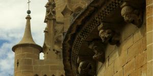 Iglesia románica de Santa María Uncastillo Cinco Villas
