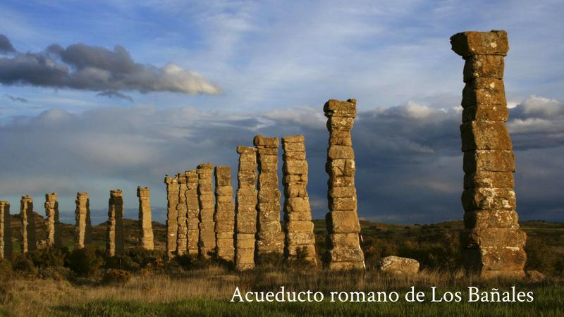 Acueducto de la época romana en Uncastillo