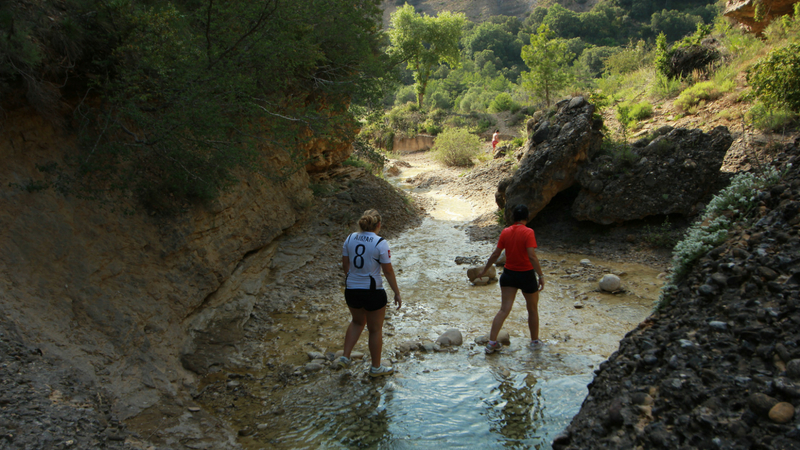 Barrancos en Prepirineo. Paisaje Protegido de Sto Domingo