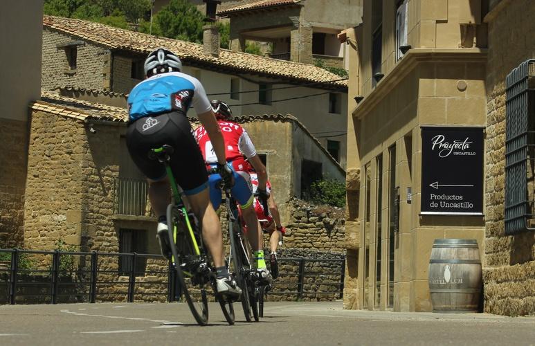 Rompepiernas cicloturista: Sos del Rey Católico, Uncastillo, Cinco Villas