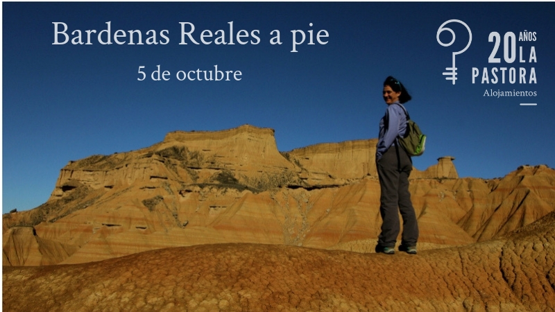 Bardenas Reales on foot