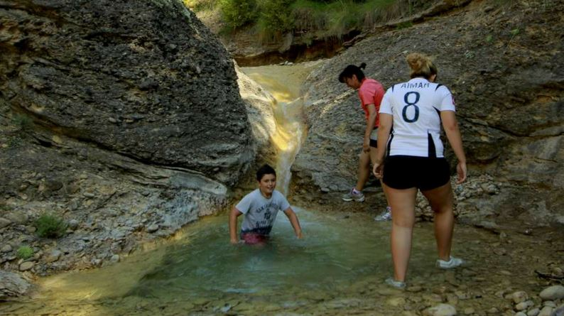 Barranco en el Prepirineo aragonés