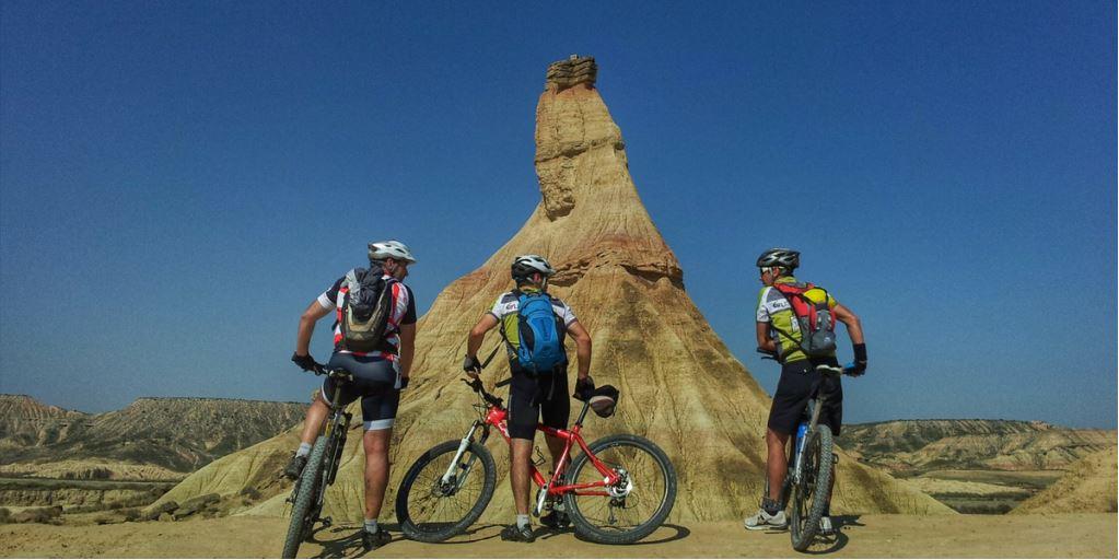Bardenas Reales - Navarra en bici de montaña