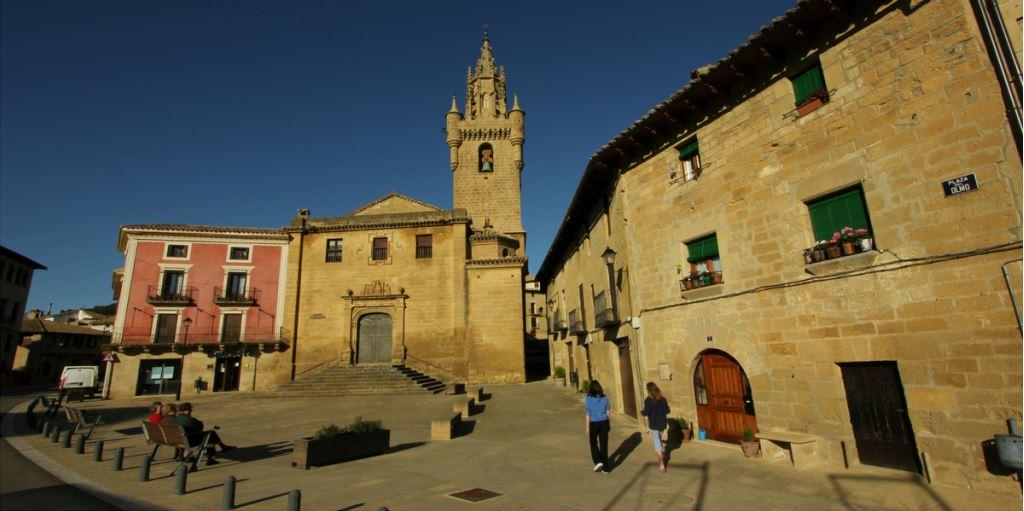 Iglesia de Santa María románico y gótico