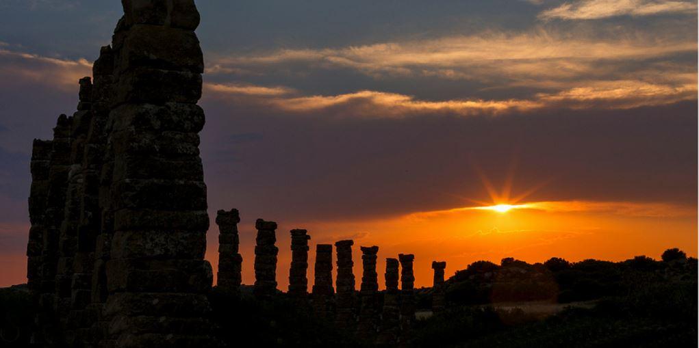 Los Bañales, ciudad romana de Uncastillo - Cinco Villas