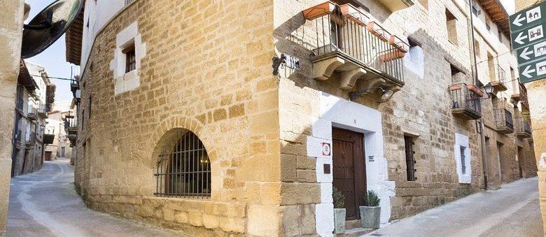 Hotel rural con encanto entre Navarra y Huesca
