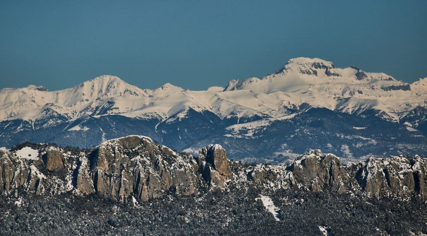 Pre Pirineo aragonés, entre Navarra y Huesca