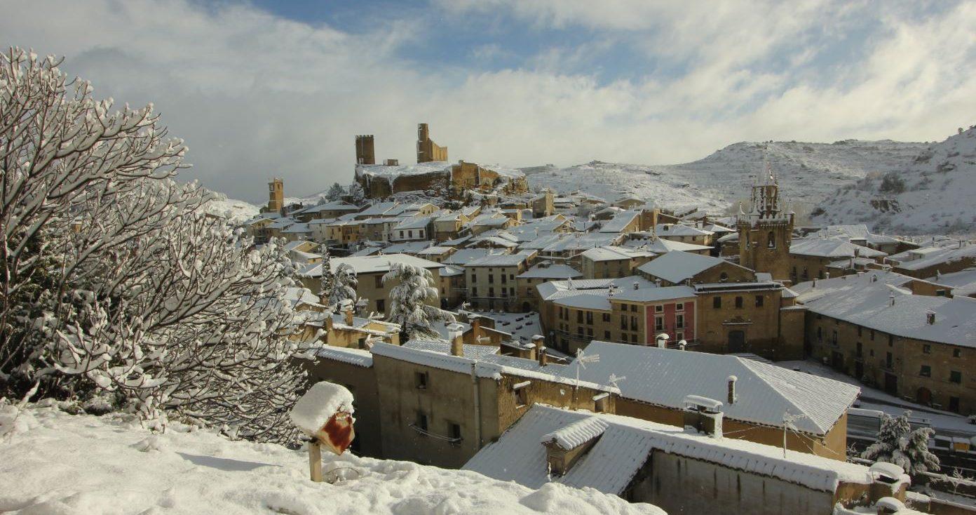 Conjunto medieval de Uncastillo entre Navarra y Huesca