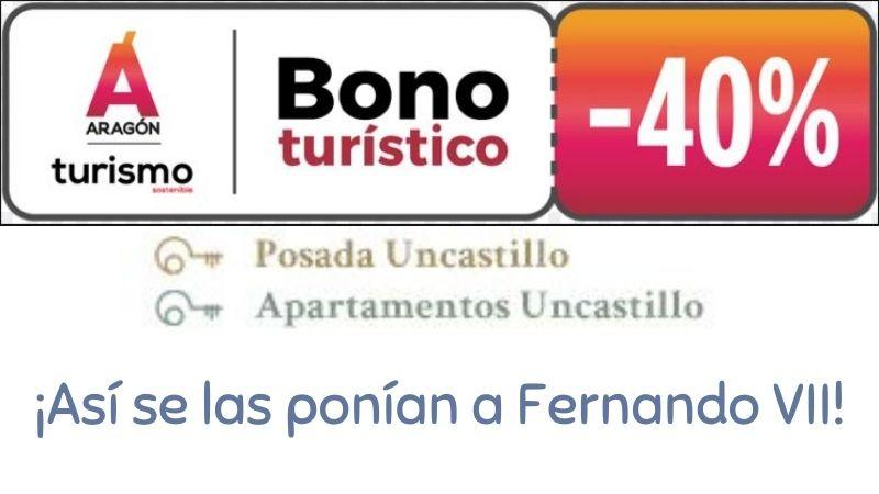Descuento 40% Bono Turístico Aragón